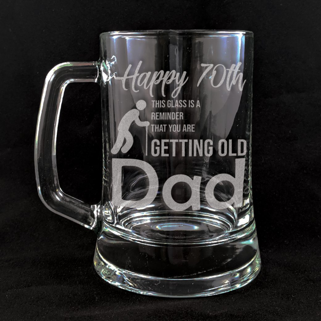Birthday Beer Mug
