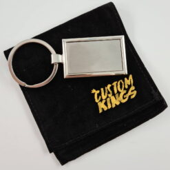 Engravable Stainless Steel Key Chain