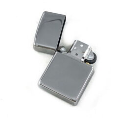 High Polished Chrome Zippo Lighter with Engraving