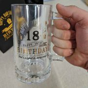 18th Printed Tankard Close Up