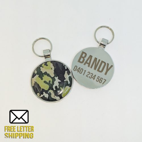 Deluxe Camouflage Pet Tag