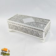 Jewellery Box Silver Plated Rectangle Small M Series Gift Idea