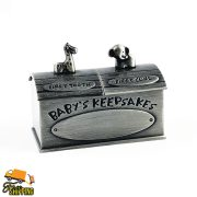 Noah's Ark First Tooth and Curl Box Pewter Gift Idea – HI FACTP