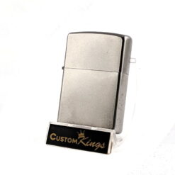 Satin Chrome Zippo Lighter