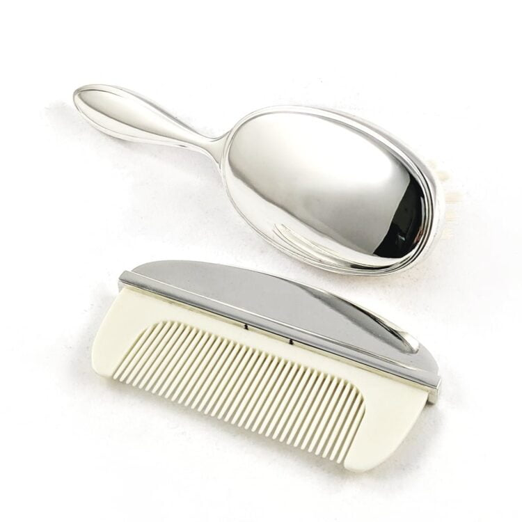 Silver-Brush-and-Comb-Set