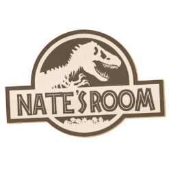 Personalised Dinosaur Wall Decor