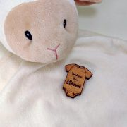 Baby Wooden Gift Tag