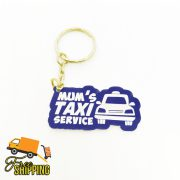 Mum's Taxi Service Key Chain