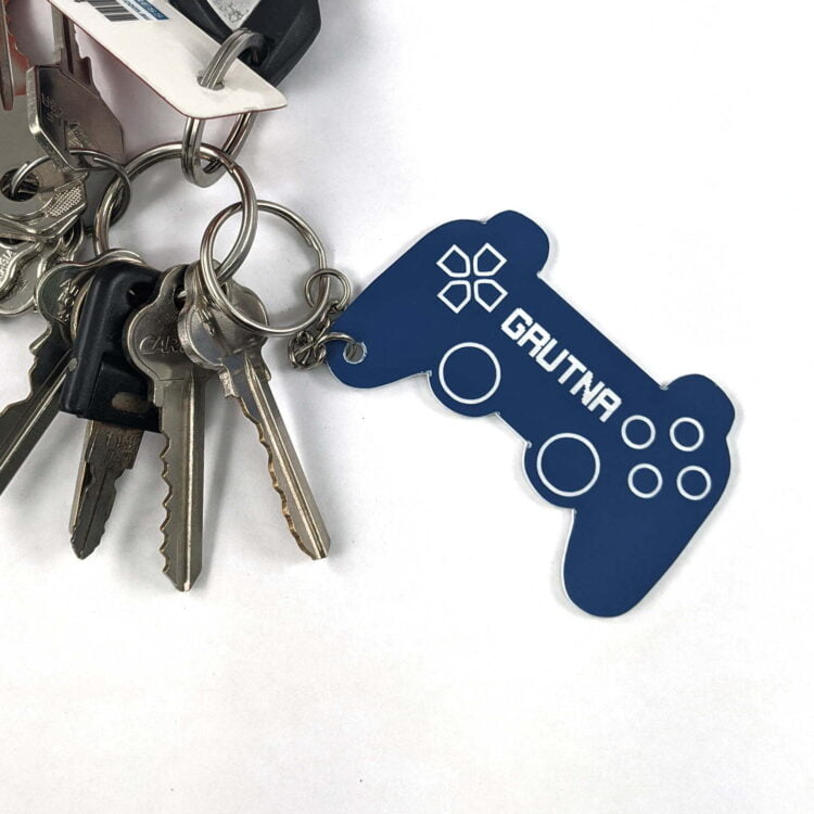 Personalised Playstation Controller Keychain