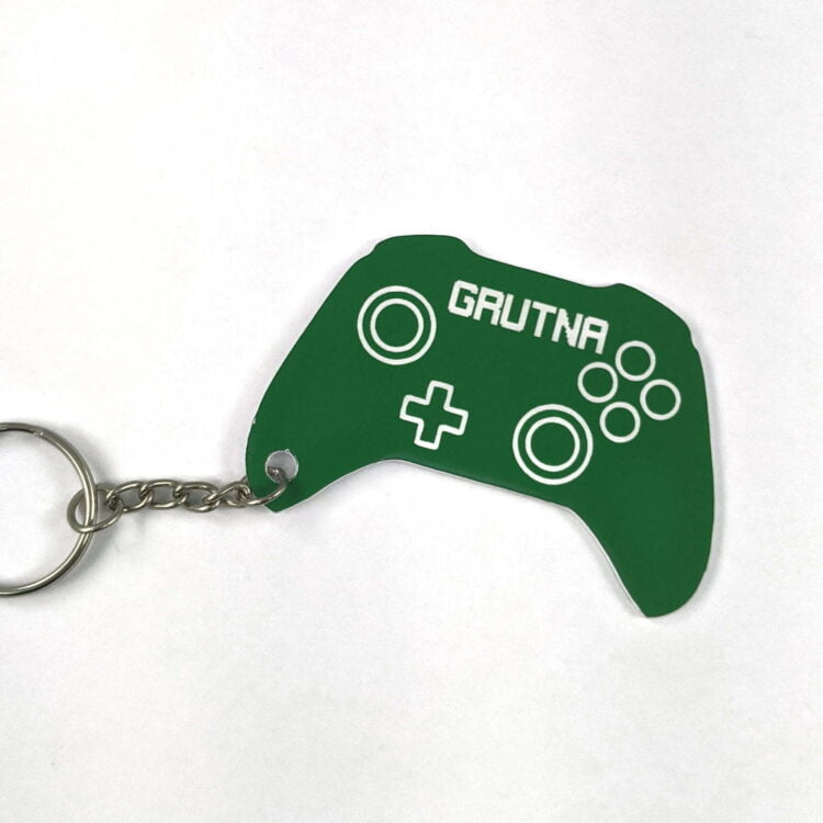 Personalised Xbox Controller Keychain