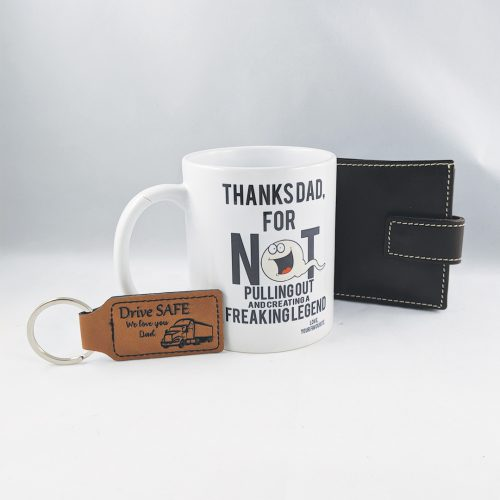 Father's Day Gift Pack - Wallet, Mug and Key Chain