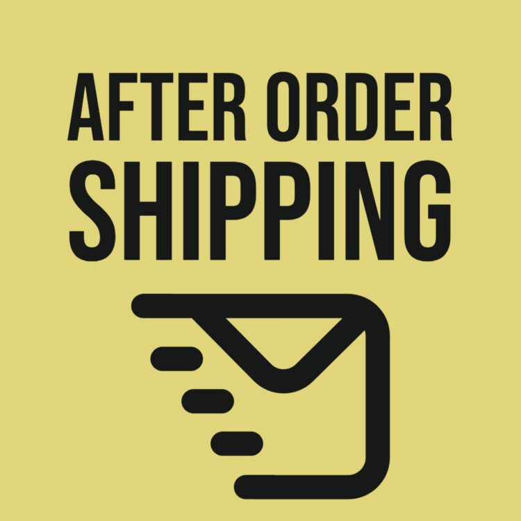 After Order Shipping 1
