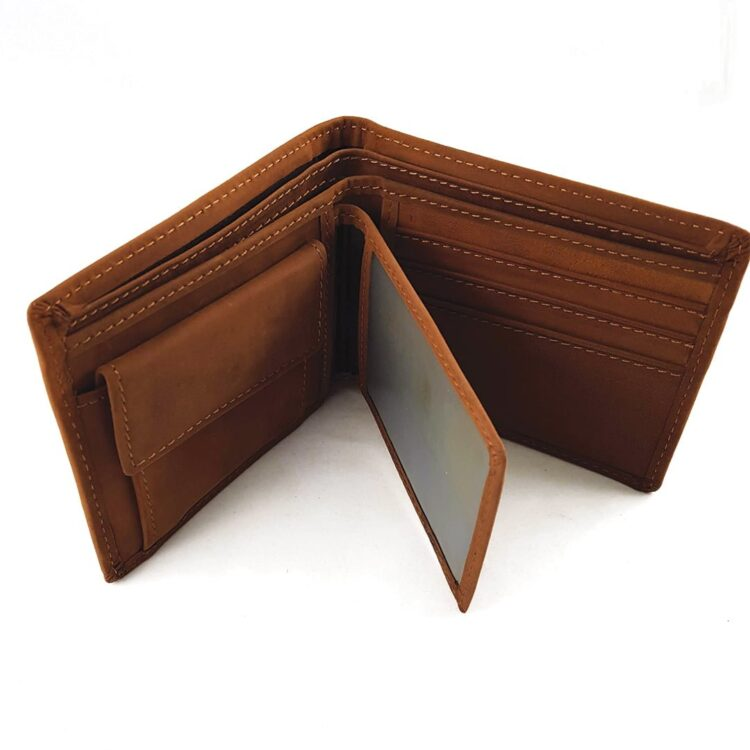 I love you Always Coffee Genuine Leather Wallet 2