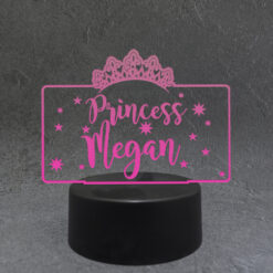 Personalised Princess LED Light