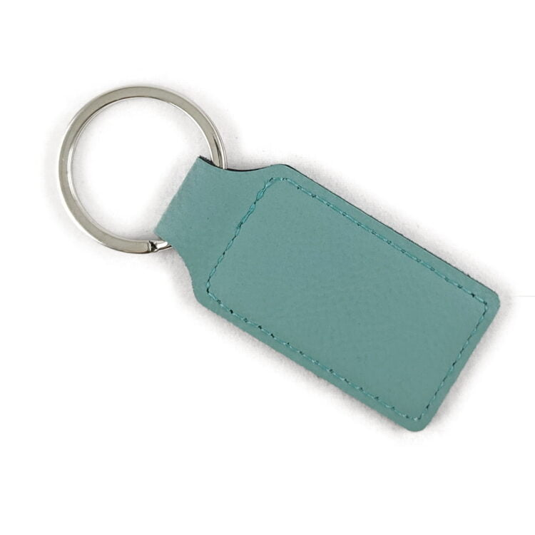 Drive Safe Leatherette Rectangle Keychain 1
