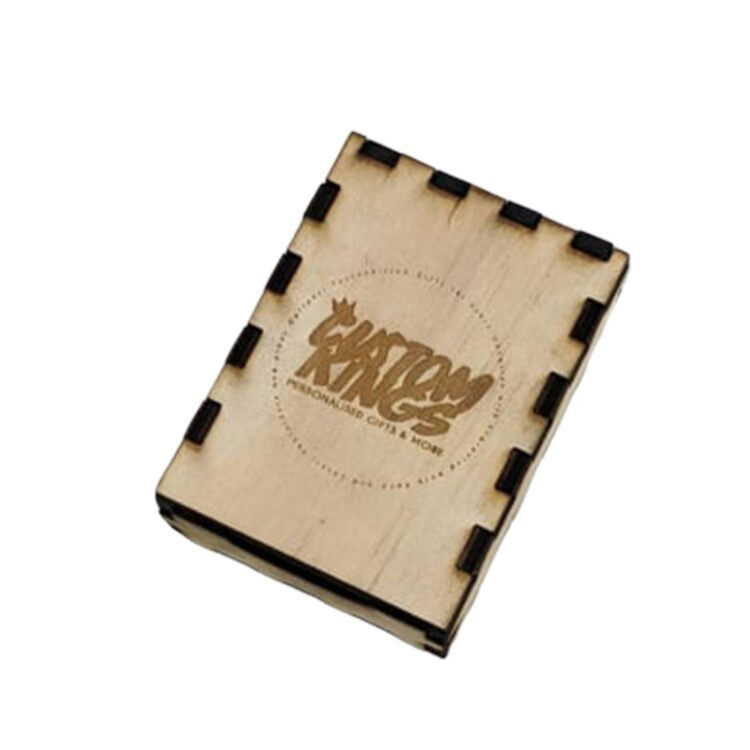 Personalised Lighter Gift Box in Timber 2