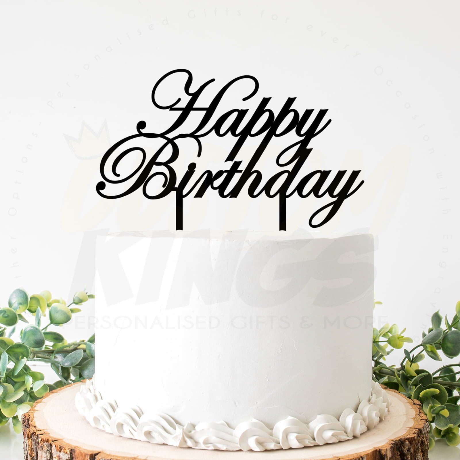 Happy Birthday Cake Topper Customkings