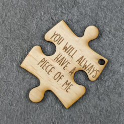A Piece of Me Wooden Puzzle Piece