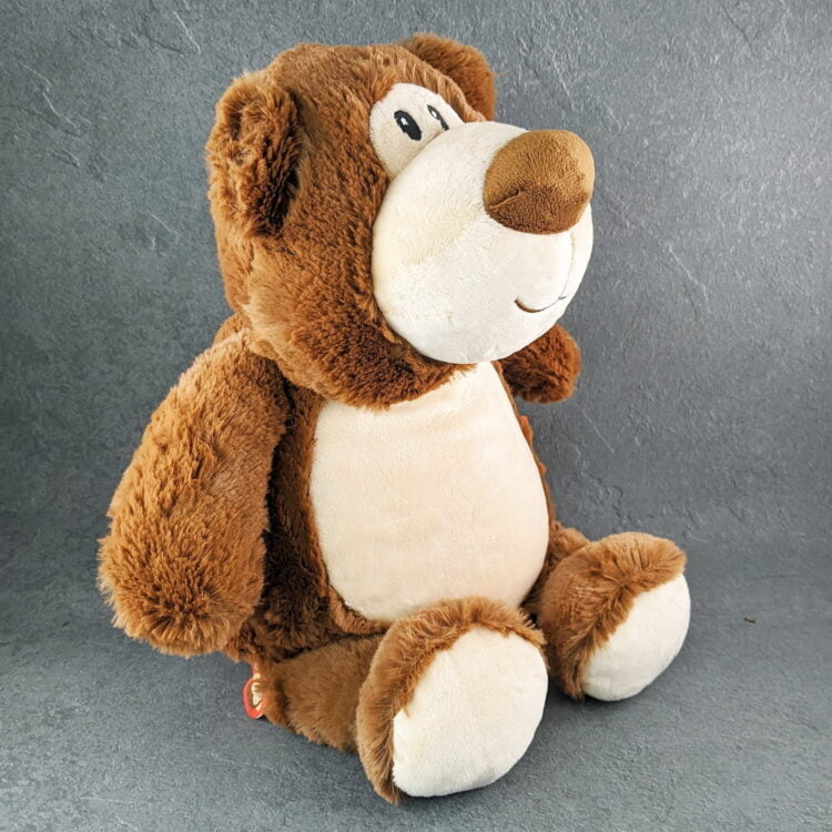 Brown Bear Embroidered Teddy