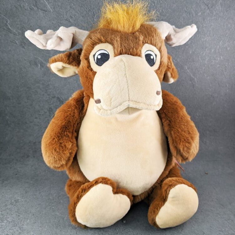 Moose Embroidered Teddy