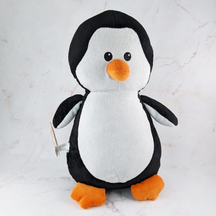 Penguin Embroidered Teddy