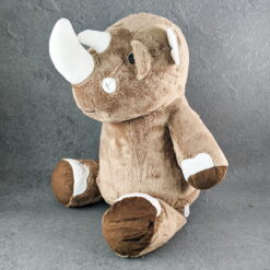 Rhino Embroidered Teddy