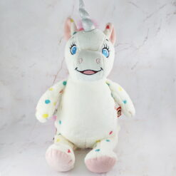 Spotted Unicorn Embroidered Teddy