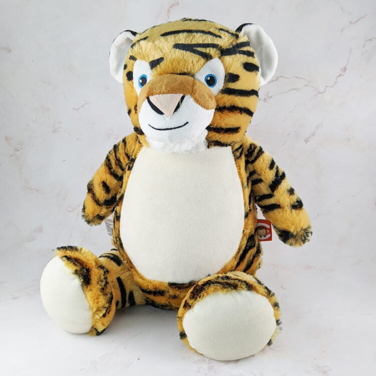 Tiger Embroidered Teddy