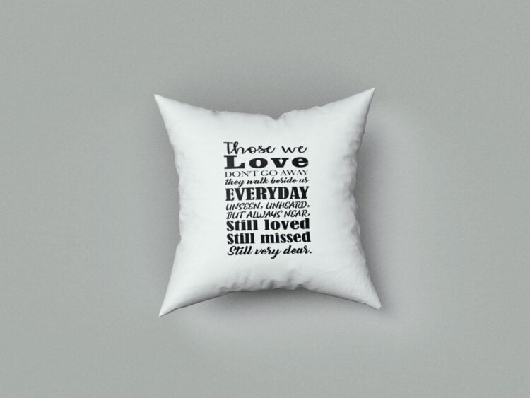 Remembrance Cushion Cover 1