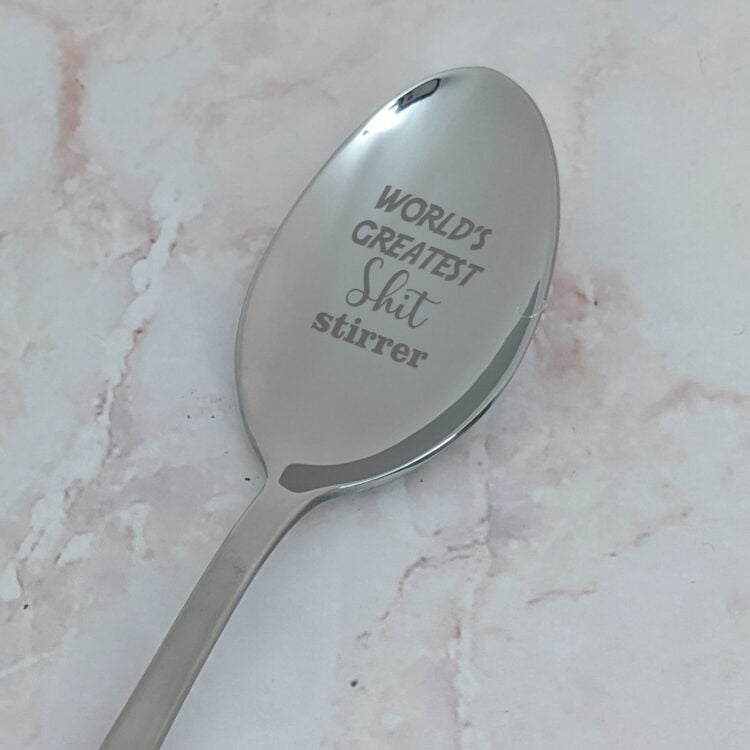 World's Greatest Shit Stirrer Spoon 1