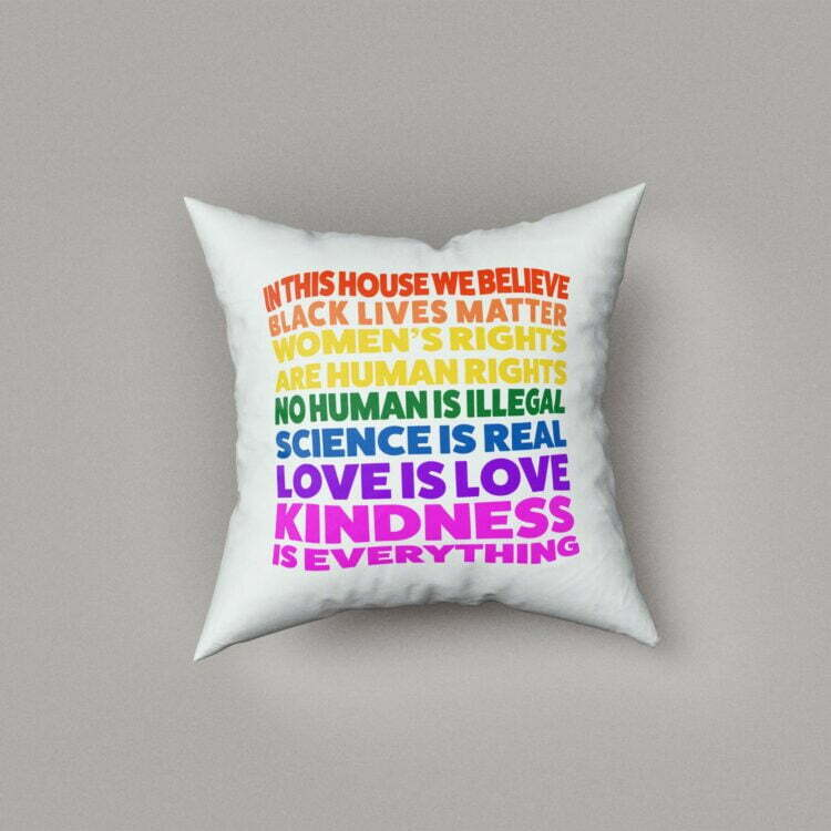 We Believe Cushion Cover 1