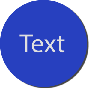 Blue with White Text