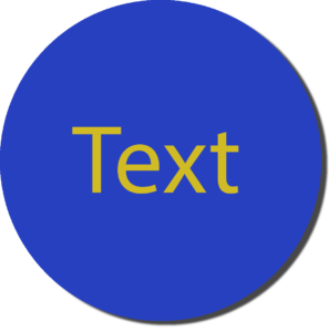 Blue with Yellow Text