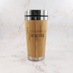 Go Go Juice Bamboo Travel Cup