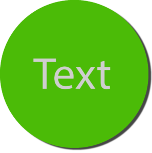 Green with White Text