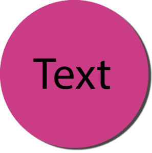 Pink with Black Text