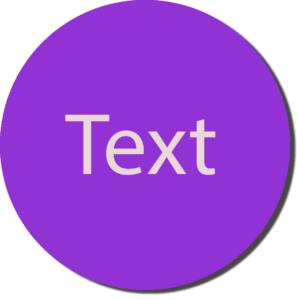 Purple with White Text
