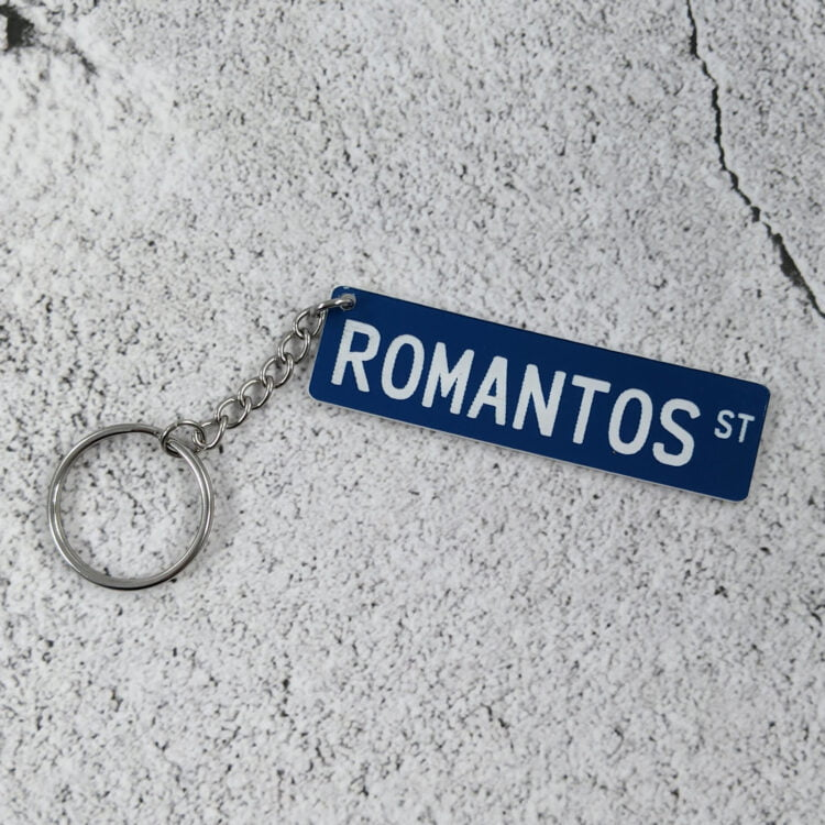 StreetIt© Street Sign Keychain - All Colours