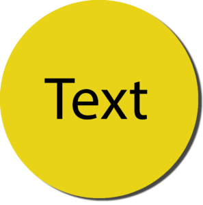 Yellow with Black Text