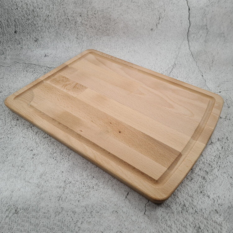 Personalised Chopping Board with milled groove 2