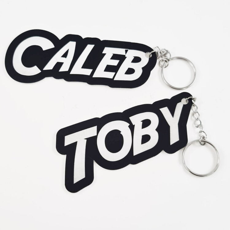 Personalised Bag Tag - All Colours 1