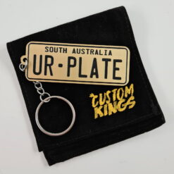 Style W PlateIt© Licence Plate Keychain - All Colours