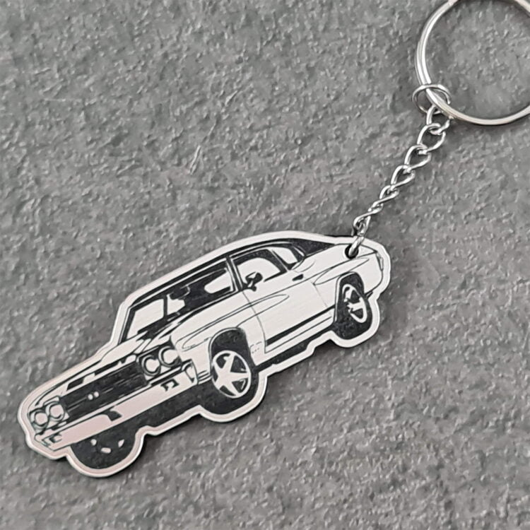 Ford Muscle Car Key Chain 3