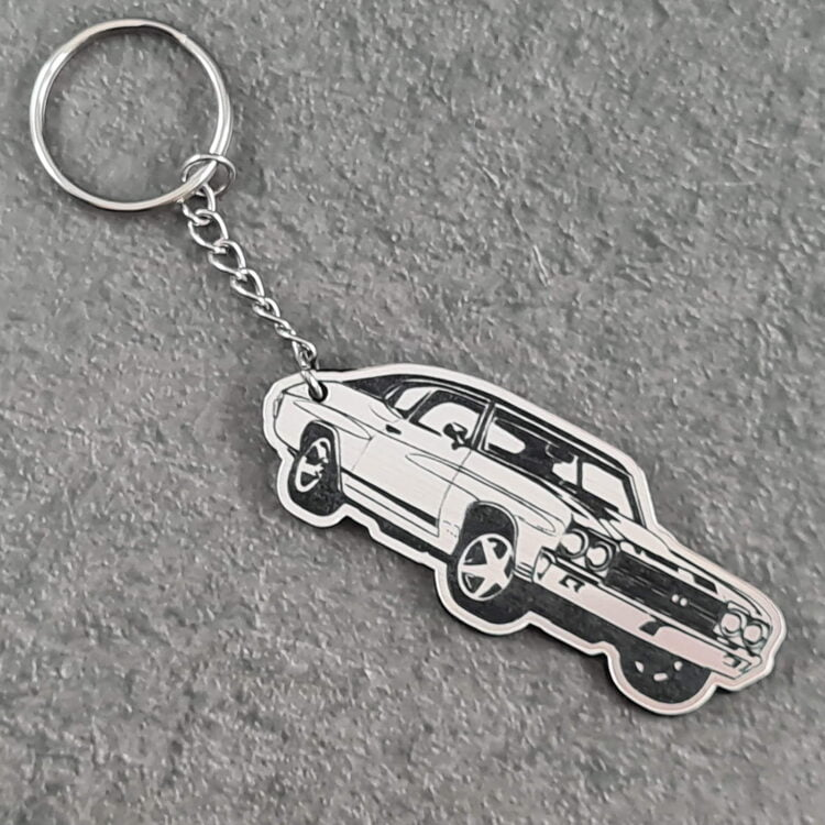 Ford Muscle Car Key Chain 2