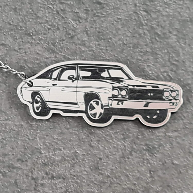 Ford Muscle Car Key Chain 1