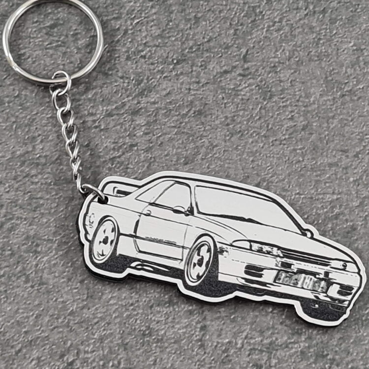 Nissan Skyline R33 Key Chain 2