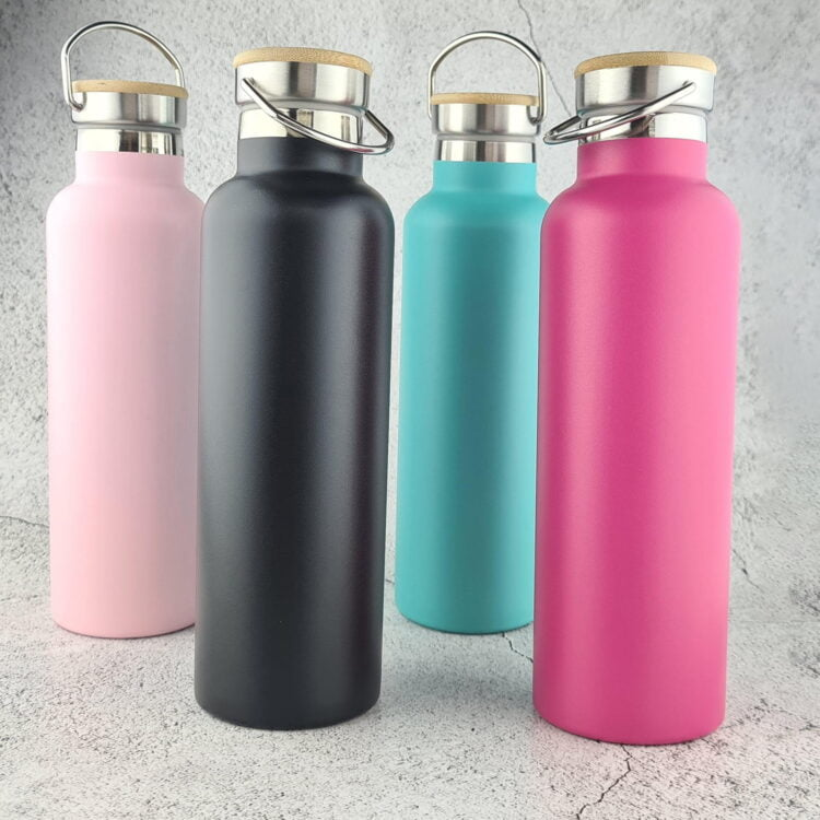 Personalised 750ml Drink Bottle - Any Text 2