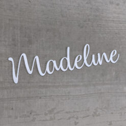 Name Decor Cut Out - Over 10 Colours