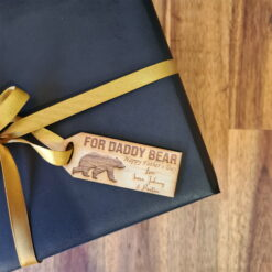 Daddy Bear Gift Tag