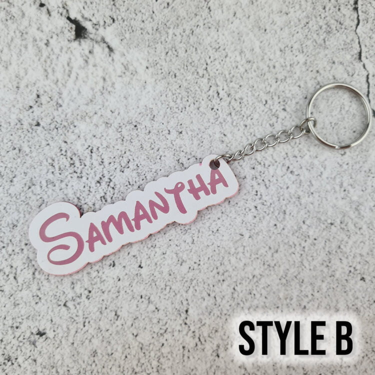 Personalised Bag Tag - All Colours 4